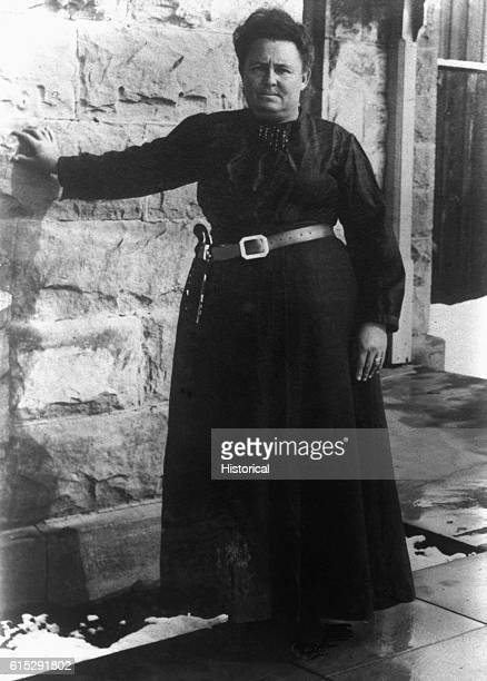 Portrait of Mrs. Conway, the jailor of San Angelo, Texas, ca. 1900s[?].