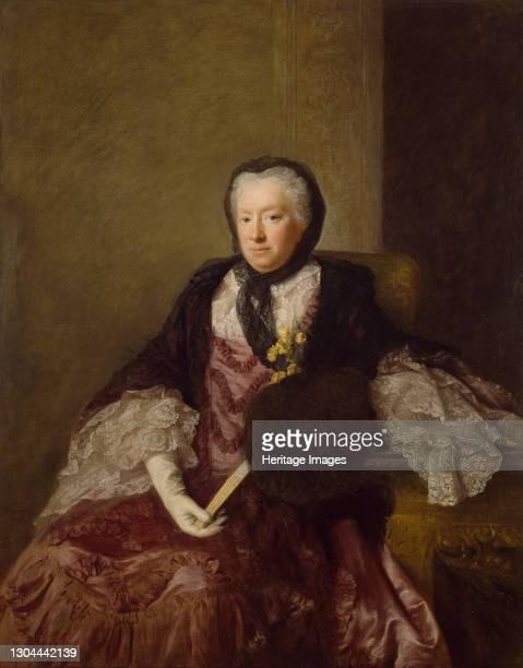 Portrait of Mrs Mary Martin, 1761. Artist Allan Ramsay.