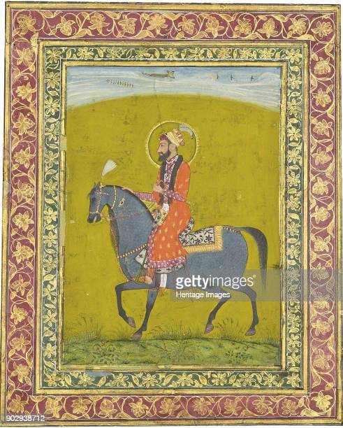 Portrait of Mughal Emperor Aurangzeb Private Collection