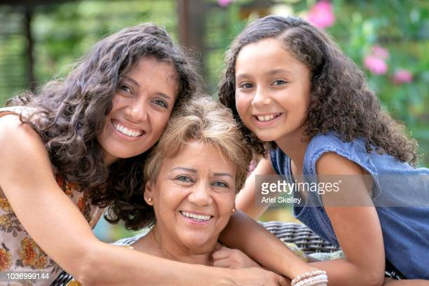 Portrait of Multi-Generation Family of Women