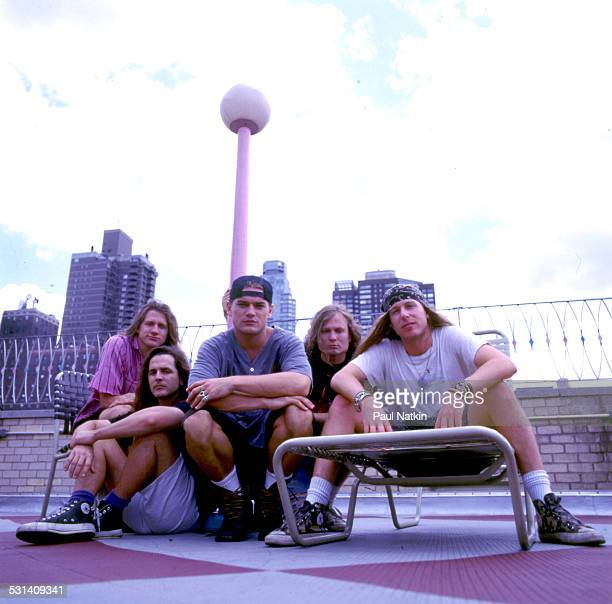 Portrait of music group Ugly Kid Joe New York New York July 10 1992