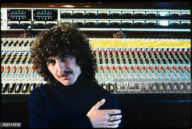 Portrait of musician and composer George Harrison at HanleyonThames Oxon England June 12 1978