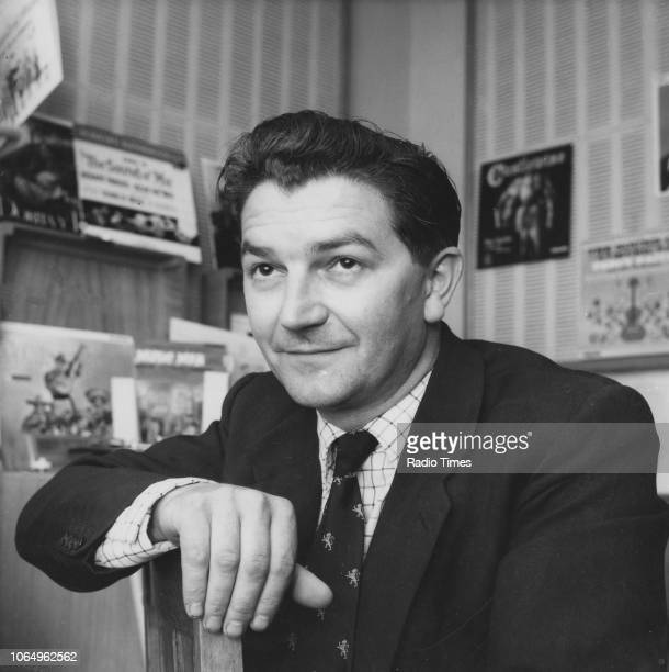 Portrait of musician and radio presenter Ken Sykora June 26th 1961