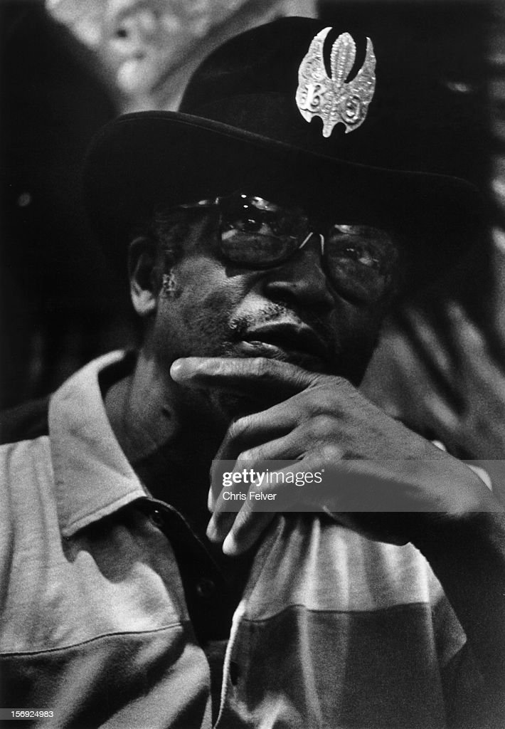 Portrait of musician Bo Diddley, New Orleans, Louisiana, 1994.