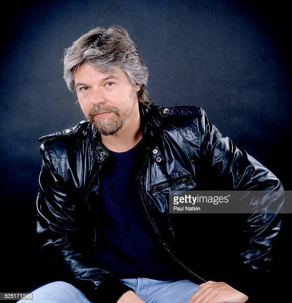 Portrait of musician Bob Seger at the Pine Knob Music Theater Clarkson Michigan August 26 1986