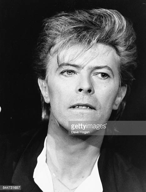 Portrait of musician David Bowie March 25th 1987