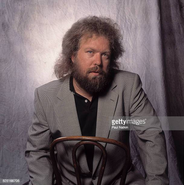 Portrait of musician Don Schlitz, Chicago, Illinois, December 1, 1993.