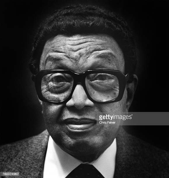 Portrait of musician Dr Billy Taylor New York New York 2000
