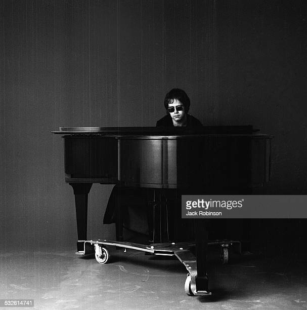 Portrait of musician Elton John 1970