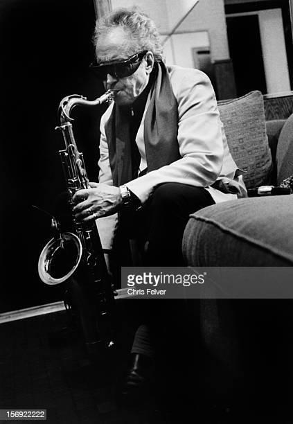 Portrait of musician Gato Barbieri New York New York 2006