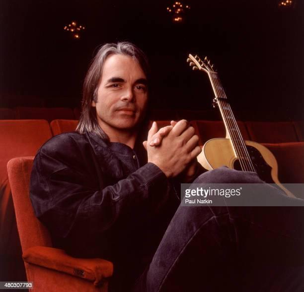 Portrait of musician Hal Ketchum Chicago Illinois January 14 1994