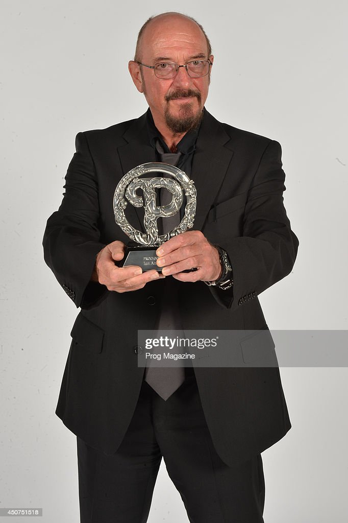 Portrait of musician Ian Anderson after winning the Prog God award at the 2013 Progressive Music Awards at Kew Gardens in London, on September 3, 2013.