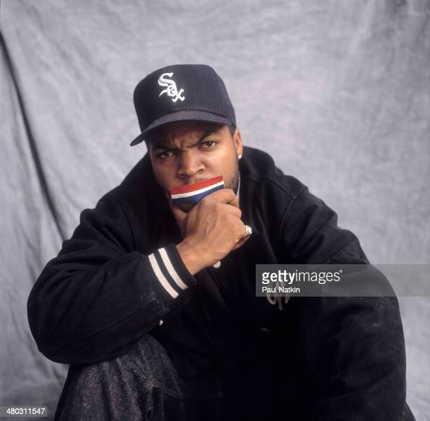 Portrait of musician Ice Cube Santa Monica California December 10 1991