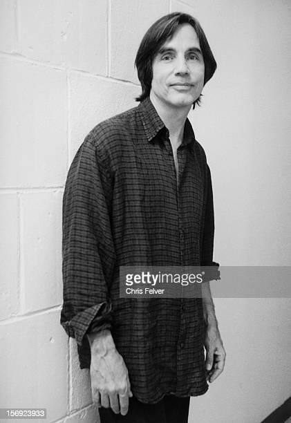 Portrait of musician Jackson Browne New York New York 1998