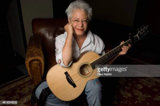 Portrait of musician Janis Ian at the Old Town School of Folk Music Chicago Illinois August 8 2008