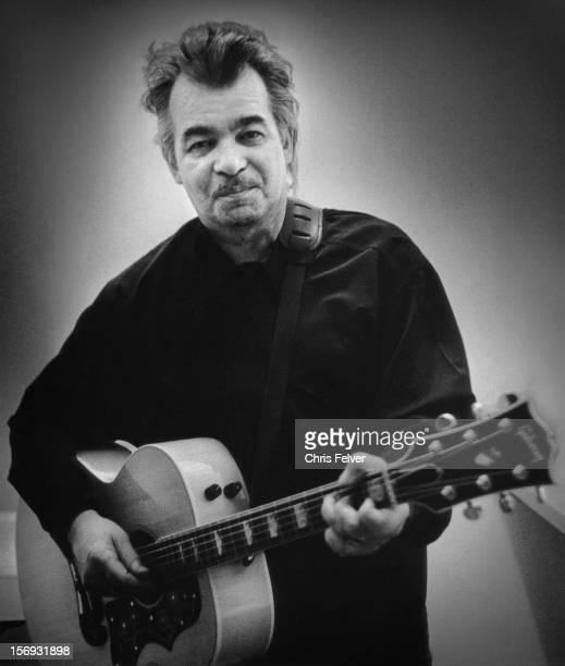 Portrait of musician John Prine Hanford California 1997
