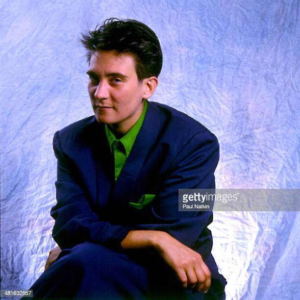 Portrait of musician KD Lang Chicago Illinois August 6 1989