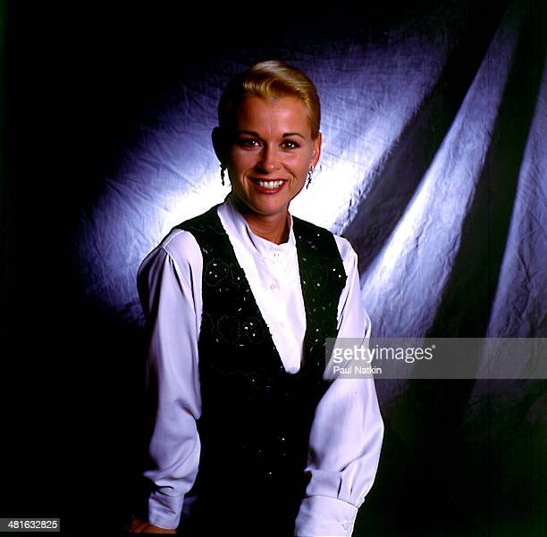 Portrait of musician Lorrie Morgan Chicago Illinois December 2 1995