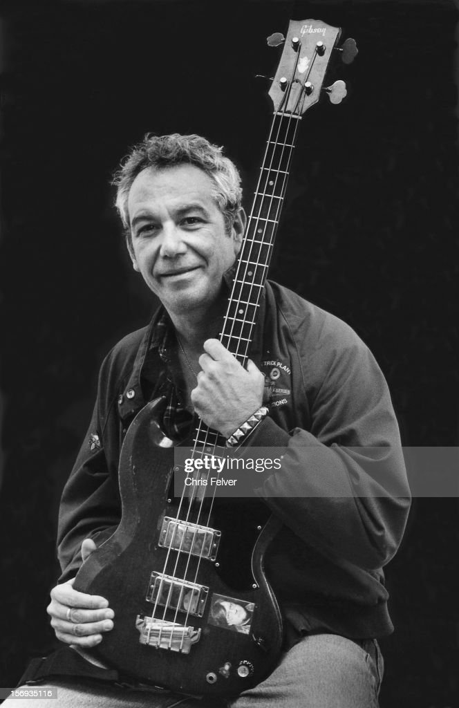 Portrait of musician Mike Watt, Los Angeles, California, 2010.