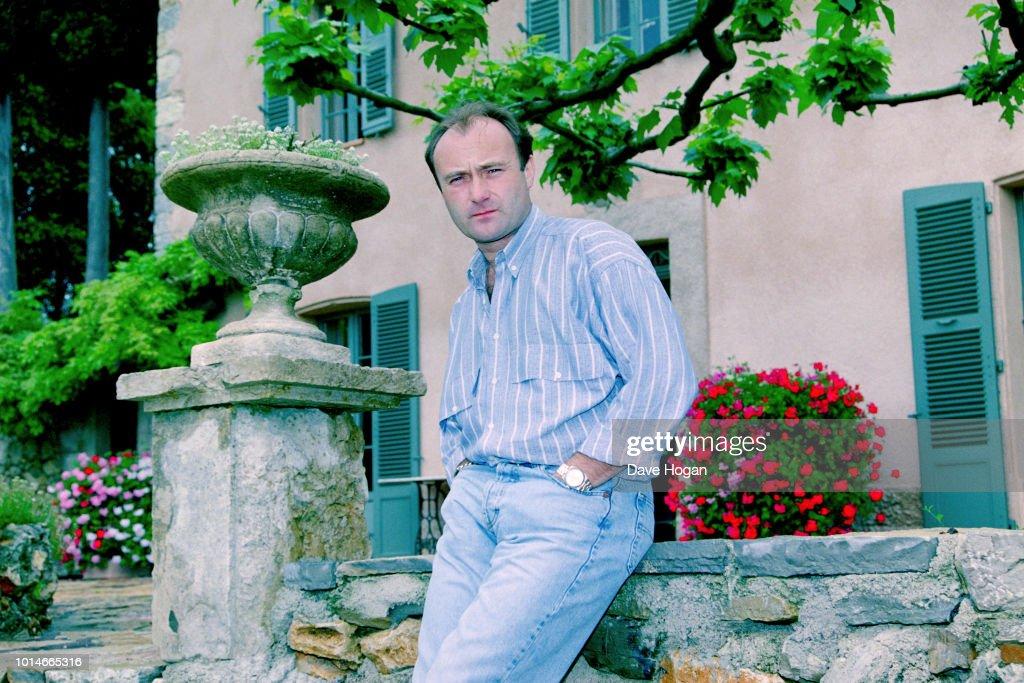Phil Collins : News Photo