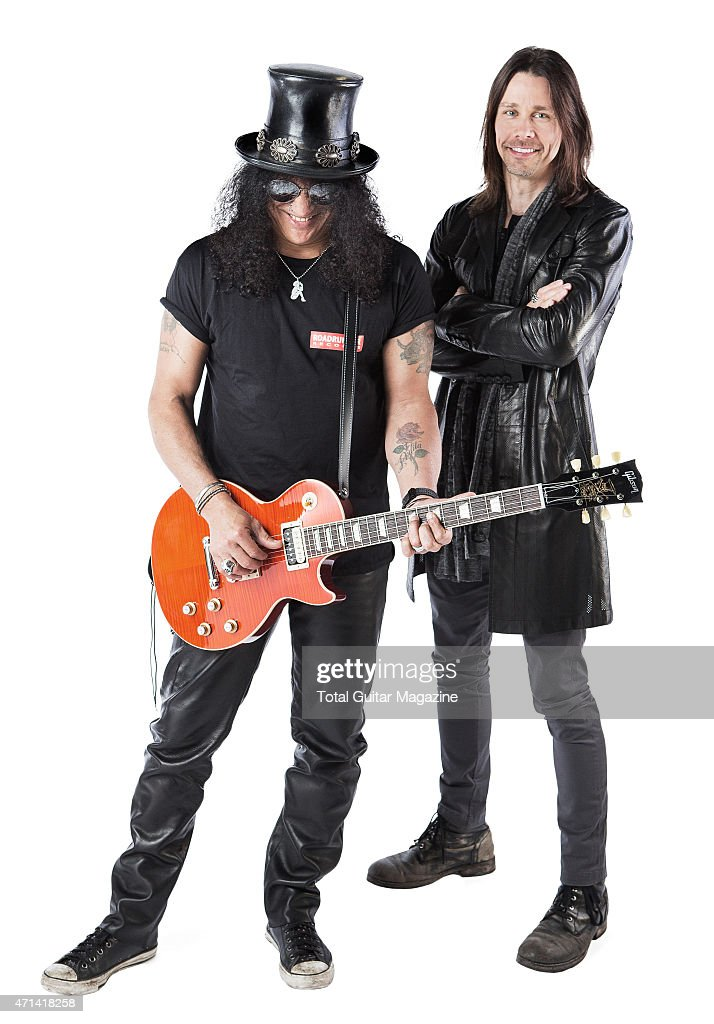 Slash And Myles Kennedy Portrait Shoot