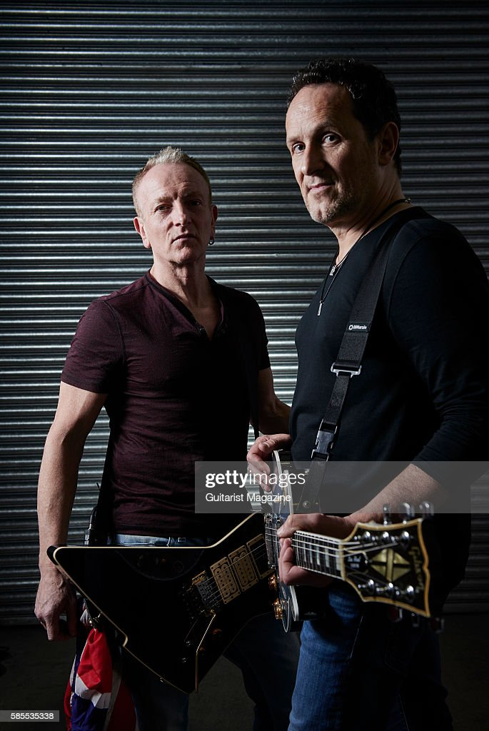 Def Leppard, Whitesnake And Black Star Riders Portrait Shoot, Cardiff : News Photo