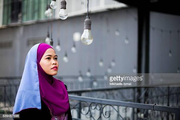 Portrait of Muslim Woman in Hijab