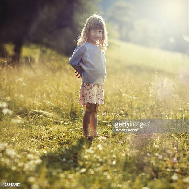 portrait of my niece in the nature - niece stock photos and pictures