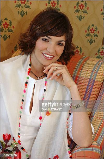 Portrait of Nadia Fares at Cabourg Romantic Film Festival in France on June 12 2004