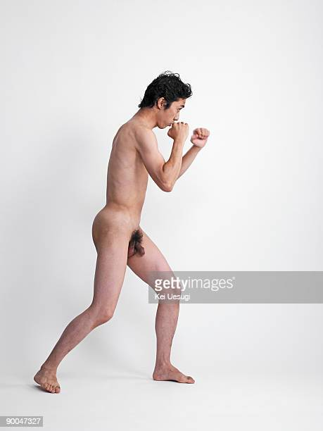 A portrait of naked man.