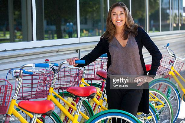 Portrait of Nancy Lee Google's director of diversity and inclusion Lee pictured on the Google campus leads Google's efforts to improve diversity in...