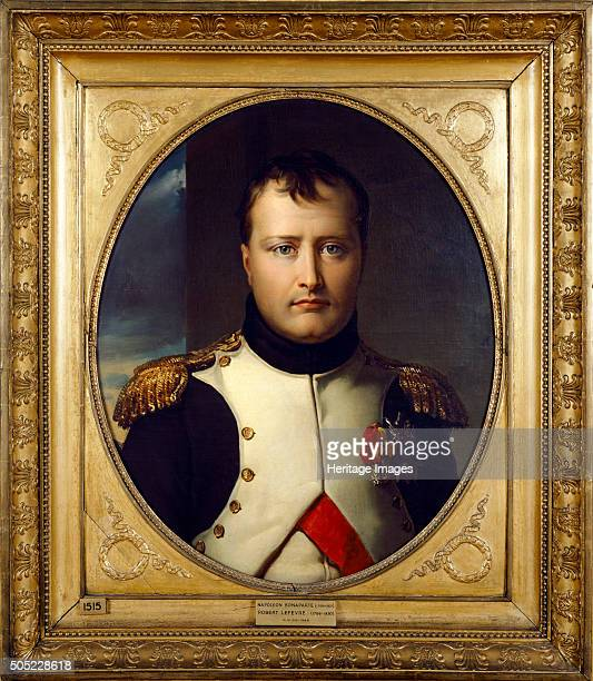 Portrait of Napoleon Bonaparte, 19th century. From the collection at Apsley House, London. Artist: Robert Lefevre.