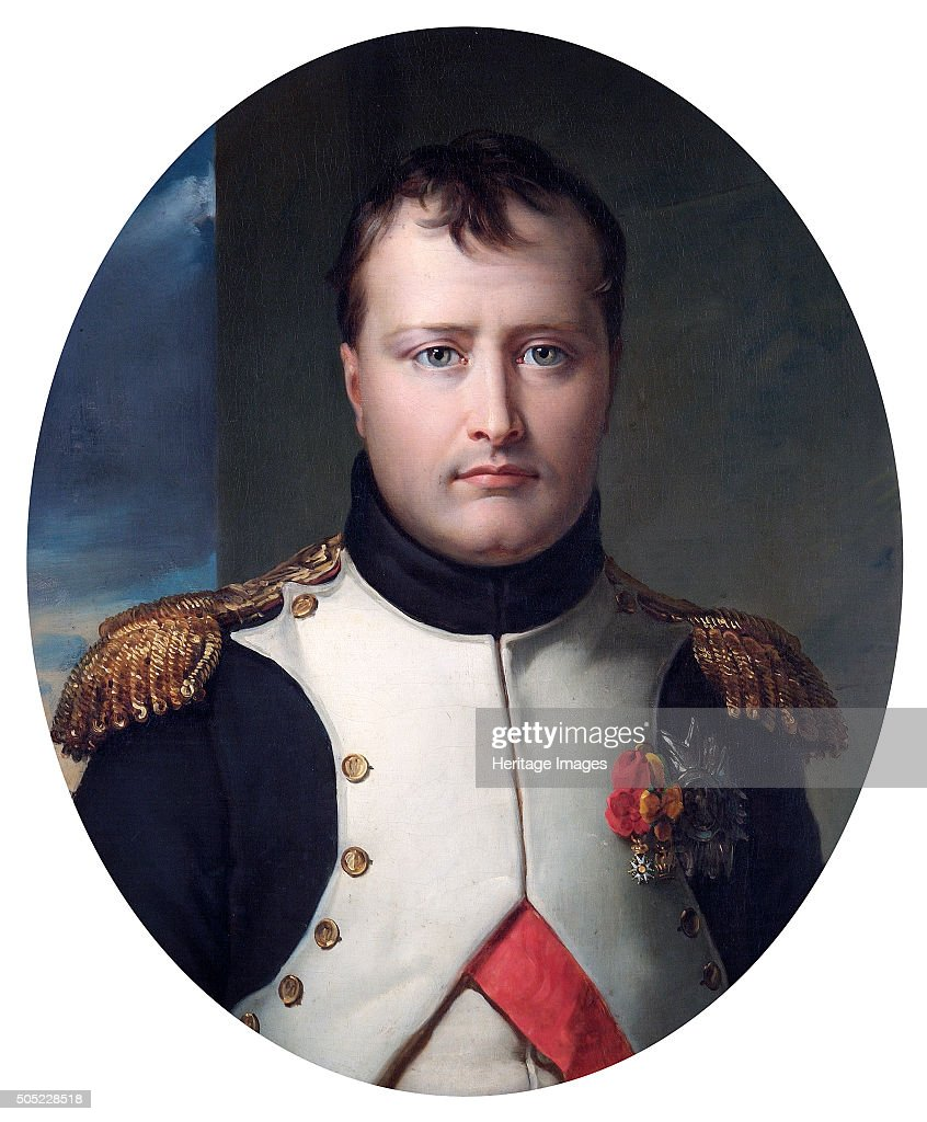 Portrait of Napoleon Bonaparte, 19th century : News Photo
