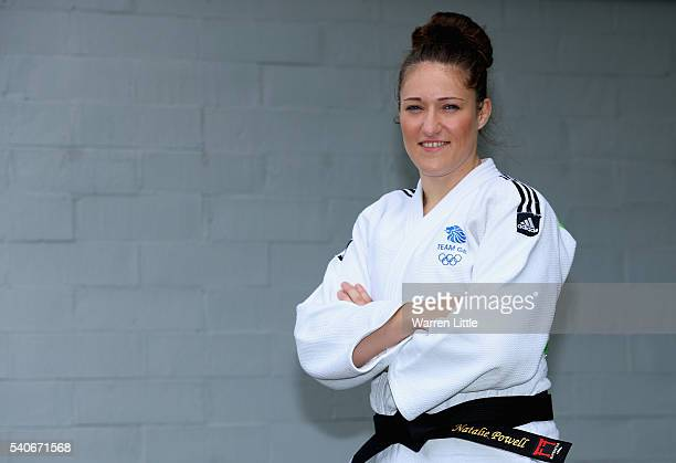 A portrait of Natalie Powell of Great Britain during an announcement of judo athletes named in Team GB for the Rio 2016 Olympic Games at British Judo...