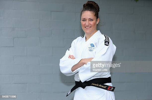 Portrait of Natalie Powell of Great Britain during an announcement of judo athletes named in Team GB for the Rio 2016 Olympic Games at British Judo...