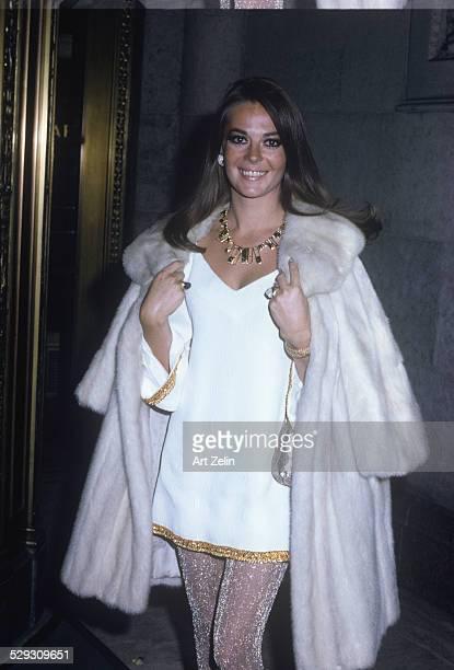 Portrait of Natalie Wood circa 1970 New York