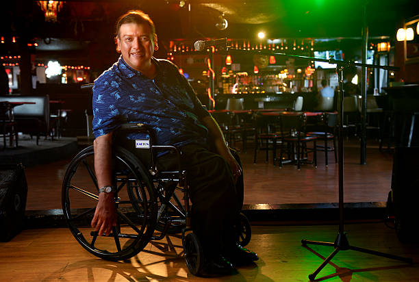 Portrait of comedian Chris Fonseca who has cerebral palsy  Pictures