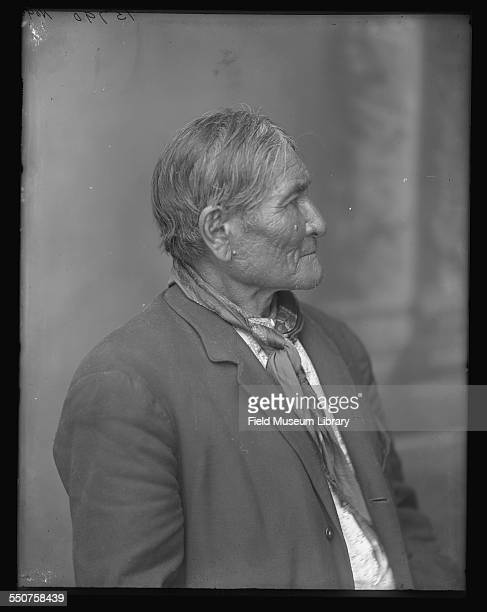 Portrait of Native American Apache Geronimo at the Louisiana Purchase Exposition St Louis Missouri June 6 1904
