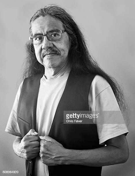 Portrait of Native American poet Oklahoma Sequoia Palequah Oklahoma July 2 2015