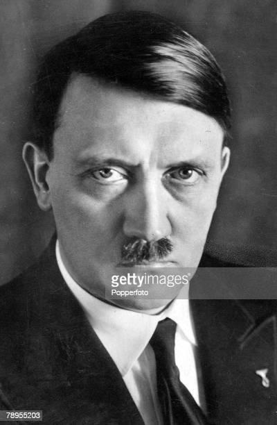 Portrait of Nazi leader Adolf Hitler 1889 1945