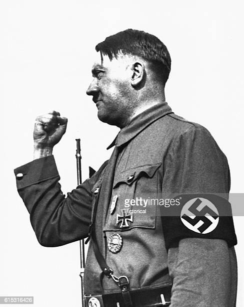 Portrait of Nazi leader Adolph Hitler
