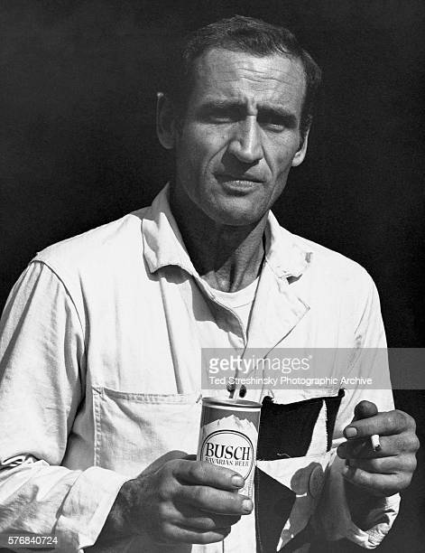 A portrait of Neal Cassidy famous for his involvement with the Merry Pranksters and Jack Kerouac California October 1966