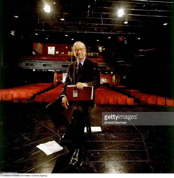 Portrait of Neil Simon American playwright and producer September 22 1999 in New York City Simon's work includes 'The Odd Couple' 'California Suite'...