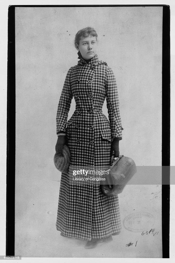 Portrait of Nellie Bly : News Photo