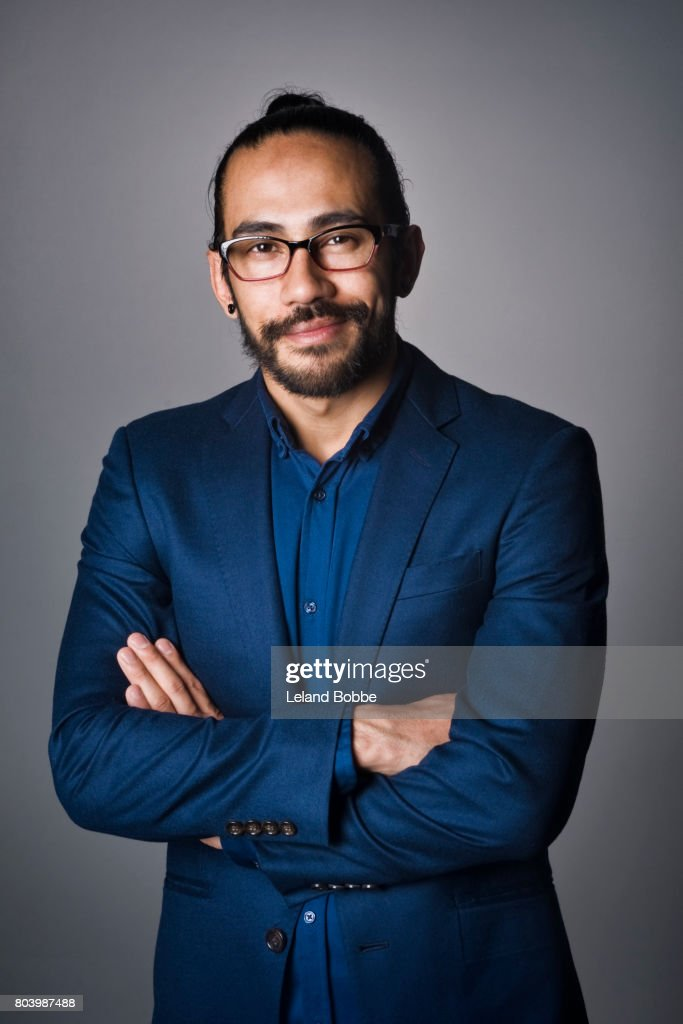 Portrait of Nepalese male : Stock Photo