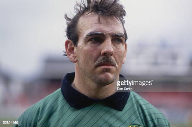 Portrait of Neville Southall of Wales taken before the International Friendly match between Poland and Wales held on May 29 1991 in Radom Poland The...