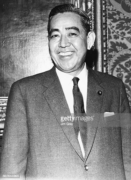 Portrait of new Japanese Prime Minister Eisaku Sato, November 9th 1964.