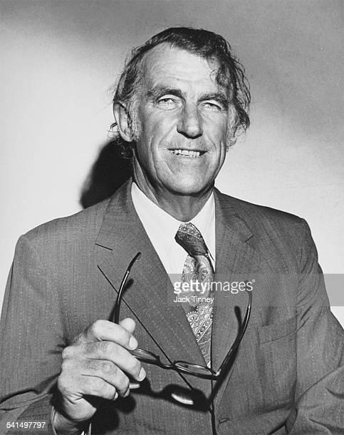 Portrait of New Zealand explorer Sir Edmund Hillary Philadelphia Pennsylvania 1965