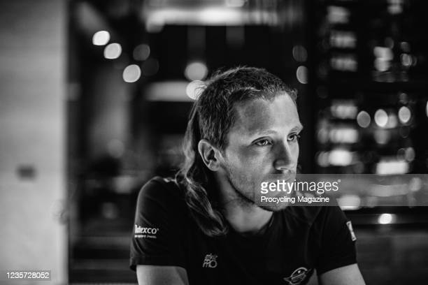 Portrait of New Zealand professional cyclist Shane Archbold of UCI WorldTeam DeceuninckQuick-Step, photographed during an interview in southern...