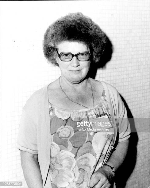 Portrait of New Zealand writer Janet Frame Photographed at the Chevron hotel today December 16 1977